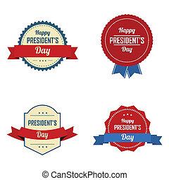 標籤, 總統的天
