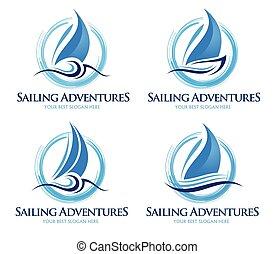 標識語, 帆船