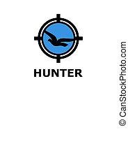 標識語, 獵人, 鳥