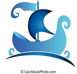 標識語, 符號, 小船