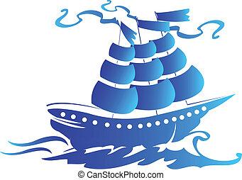 標識語, 船, 航行