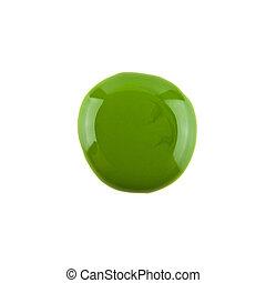 樣品, 釘子, 綠色, 擦亮