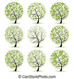 樹, 你, 藝術, 彙整, 設計