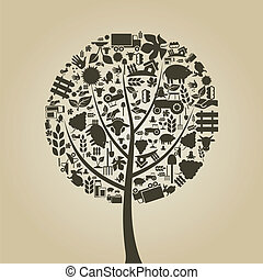 樹, 農業