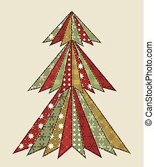 樹, scrapbooking, 聖誕節, 4