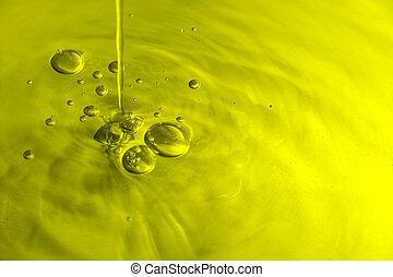 橄欖, 氣泡, 油
