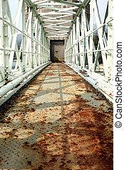 橋梁, 生鏽, 老