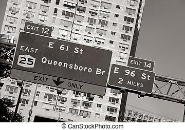 橋梁, queensboro, 簽署