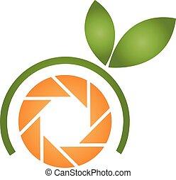 橙, 標識語, 攝影