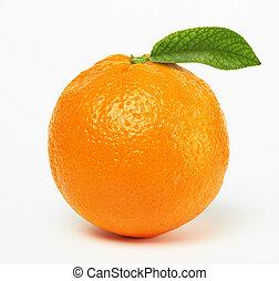 橙, 葉子