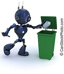 機器人, 再循環, 垃圾