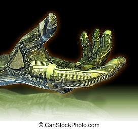 機器人, 手