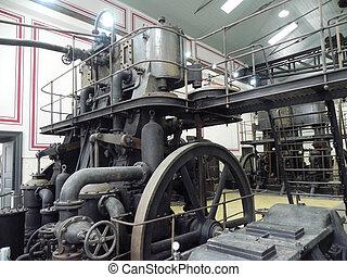 機器, 古老, 蒸汽