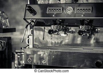 機器, 咖啡, 餐館