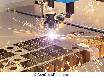 機器, 工業, 切, 血漿, 金屬制品