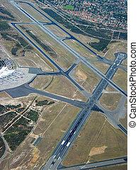 機場, 空中