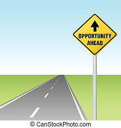 機會, 交通, 高速公路, 在前, 簽署