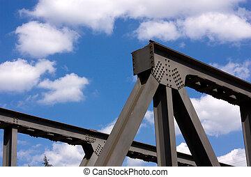 橫樑, 鐵