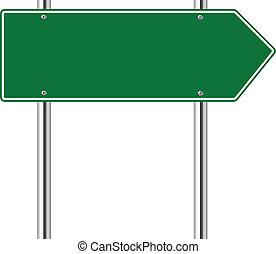 權利, 綠色, 路, 箭徵候