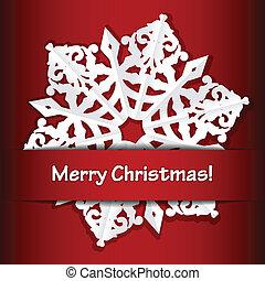 歡樂的聖誕節, 背景, 紅色