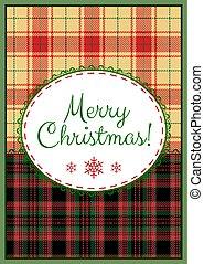 歡樂, 卡片, 聖誕節