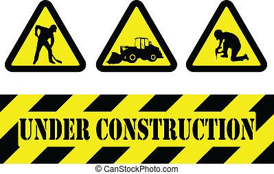 正在建設中, 簽署