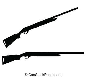 武器, -, 火器, 彙整, 黑色半面畫像