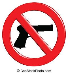 武器, 禁止, 簽署