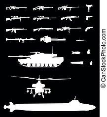 武器, 集合