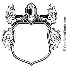 武器, knight's, 外套