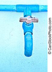 水管, 閥門, 塑料