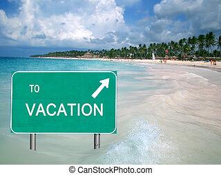 水, 熱帶的假期, 簽署