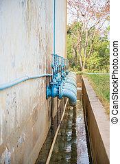 水, 門, 閥門