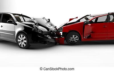 汽車, 事故, 二