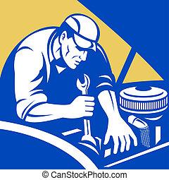 汽車, 小汽車技工, 修理