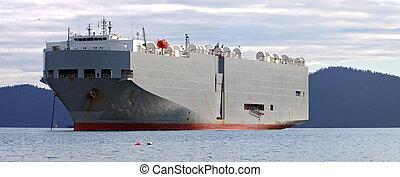 汽車, 船搬運工