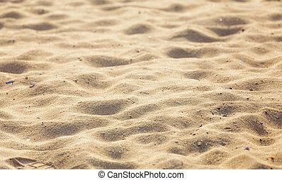 沙子海灘, 背景