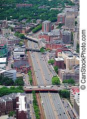 波士頓, 空中, 城市觀點