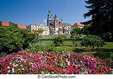 波蘭, 克拉科夫, 城堡, wawel