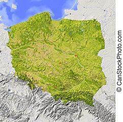 波蘭, 緩解地圖, 遮掩