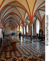 波蘭, 餐廳, malbork, 城堡