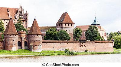 波蘭, pomerania, malbork