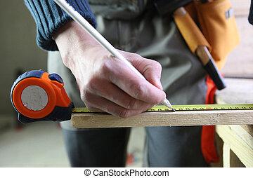 注意, 木頭, 木匠, 部分