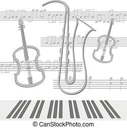 注釋, 中提琴