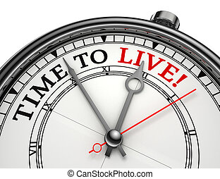 活, 概念, 時間鐘
