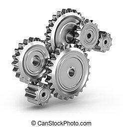 流動, :, 齒輪, perpetuum