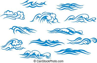 海洋, 海, 波浪