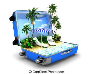 海灘假期, 包裹