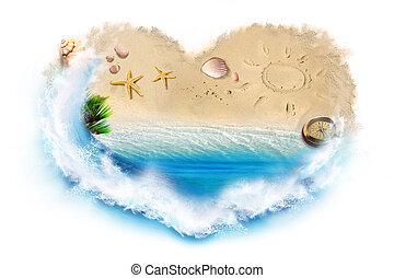 海灘, 愛