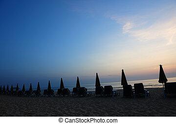 海灘, 風景
